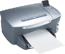 Photosmart PSC 2410 All-In-One Printer, Copier, Scanner