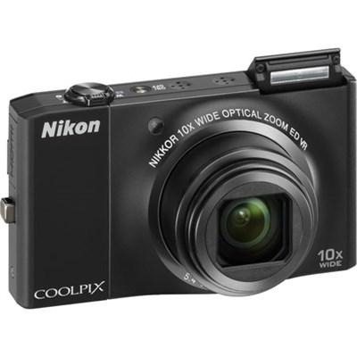 COOLPIX S8000 14.2 Megapixel Digital Camera (Black) Manufacturer Refurbished