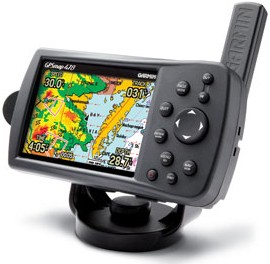 GPSMAP 478 Portable GPS Chartplotter w/ Pre-Loaded Marine and Road Maps