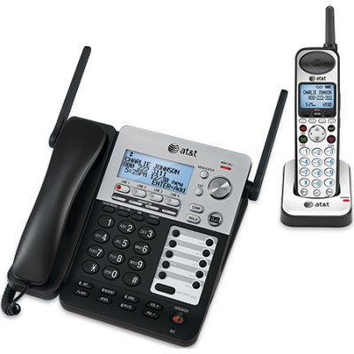 SynJ 4-line Corded/Cordless Business Phone System - SB67138
