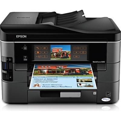 WorkForce 840 Inkjet All-in-One Wi-Fi Printer - C11CA97201