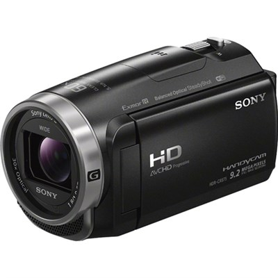 HDR-CX675/B Full HD Handycam Camcorder w/Exmor R CMOS - OPEN BOX