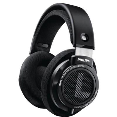 SHP9500 HiFi Precision Stereo Over-ear Headphones (Black) OPEN BOX