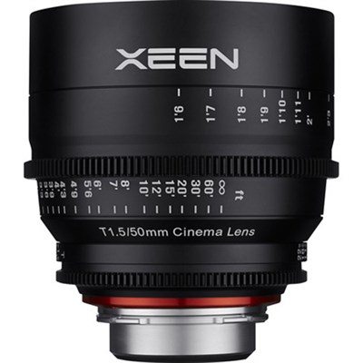 Xeen XN50-C 50mm T1.5 Lens for Canon EF Mount