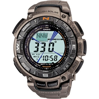 PAG240T-7 - Pathfinder Triple Sensor Multi-Function Titanium Watch