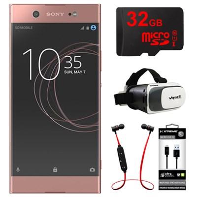 XA1 Ultra 32GB 6-inch Smartphone, Unlocked - Pink w/ 32GB Bundle