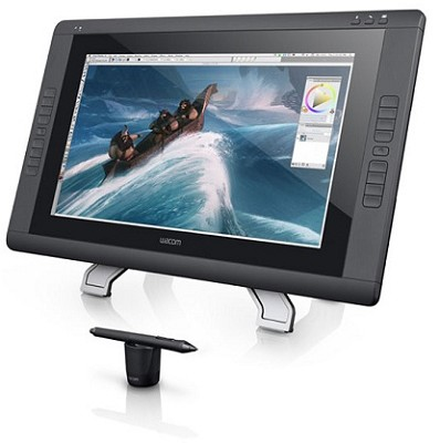 Cintiq 22HD -22  HD, wide-format  Interactive Pen Display with Grip Pen OPEN BOX