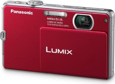 DMC-FP1R LUMIX 12.1 MP Digital Camera (Red) - REFURBISHED