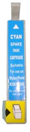 Cyan Replacement Ink Cartridge for Epson Stylus R200/R300/500/600