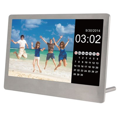 7-Inch Stainless Steel Digital Photo Frame (OPEN BOX)