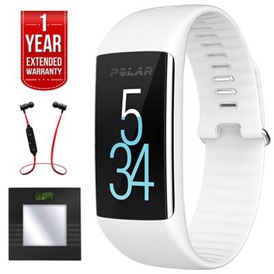 A360 Fitness Tracker w/ Wrist Heart Rate Monitor + Bluetooth Scale Bundle