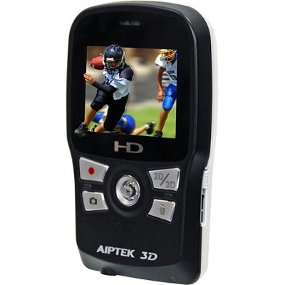 3D-HD High Definition 3D Camcorder (Black/White)