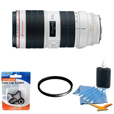 EF 70-200mm f/2.8L II IS USM Telephoto Zoom Lens with UV Filter