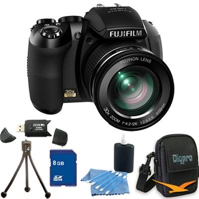 FinePix HS20 16 MP Digital Camera with EXR BSI CMOS Sensor 8GB Bundle