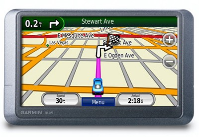 Nuvi 205W, Preloaded City Navigator
