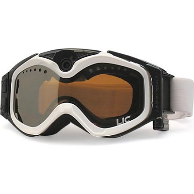 Summit Series Video Camera Snow Goggles-White (GER)
