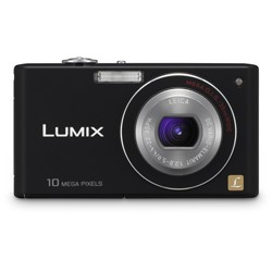DMC-FX37K - Stylish Compact 10 Megapixel Digital Camera (Black) -OPEN BOX