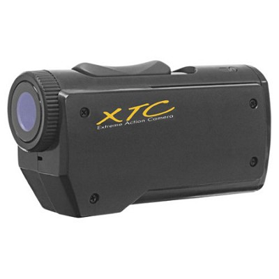 XTC100VP2 640 x 480 Standard Def Extreme Action Camera with 4 Mounts Included