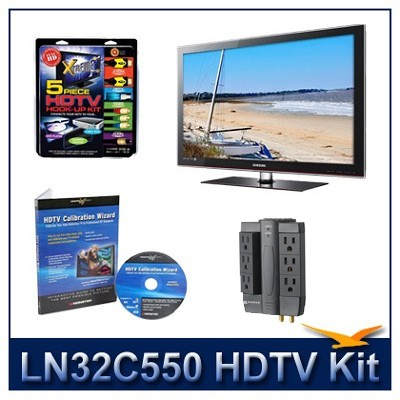 LN32C550 - HDTV + High-performance Hook-up Kit + Power Protection + Calibration
