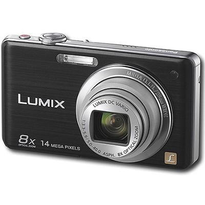DMC-FH22K LUMIX 14.1 Megapixel Black Digital Camera w/ 3-inch Touch Screen