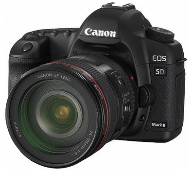 EOS 5D Mark II 21.1MP Full Frame CMOS SLR Camera with EF 24-105mm f/4 L IS Lens