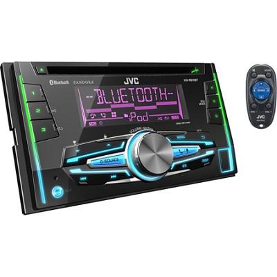 KWR910BT Double-DIN Bluetooth CD/USB Receiver