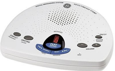 Digital Messaging System with Voice Time and Day Stamp