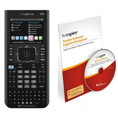 Nspire CX CAS Teacher Bundle - N3CAS/CBX/2L1/E