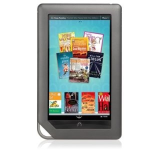 NOOK COLOR eBook Reader Tablet (WiFi Only) w/ SanDisk 1GB microSD Card