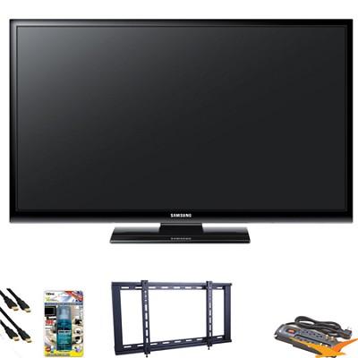 PN51E450 51 inch 720p Plasma HDTV Value Bundle