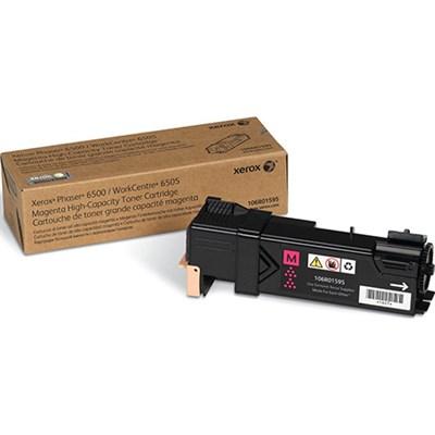 Phaser 6500/WorkCentre 6505 High Capacity Magenta Toner Cartridge - 106R01595