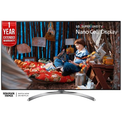 SUPER UHD 55` 4K LED TV 2017 Model w/ Additional 1 Year Extended Warranty