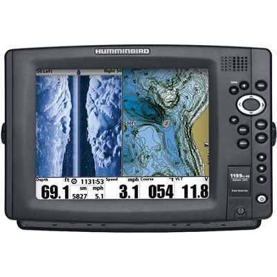 1199ci HD SI 10.4` Color Temp/Speed GPS Sonar Combo Fish Finder