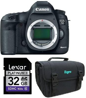 EOS 5D Mark III 22.3 MP Full Frame CMOS Digital SLR Camera (Body) Kit