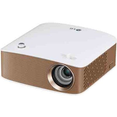 Projector w/ Bluetooth Sound, HDMI Input, Battery and Screen Share (OPEN BOX)