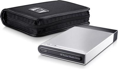 Pocket Media 320 GB USB 2.0 Portable External Hard Drive w/ Case - OPEN BOX