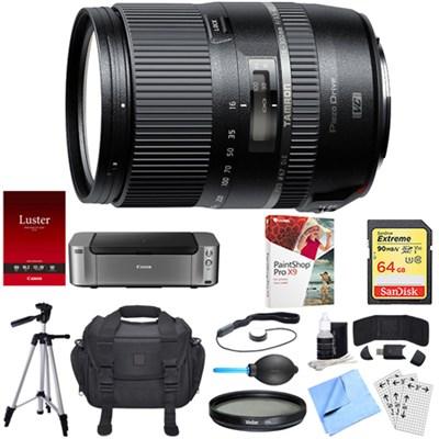 16-300mm f/3.5-6.3 Di II PZD MACRO Lens for Sony Dual Mail in Rebate Bundle