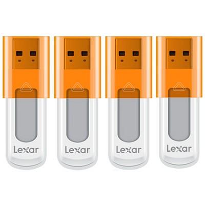 16 GB JumpDrive High Speed USB Flash Drive (Orange) 4-Pack (64GB Total)
