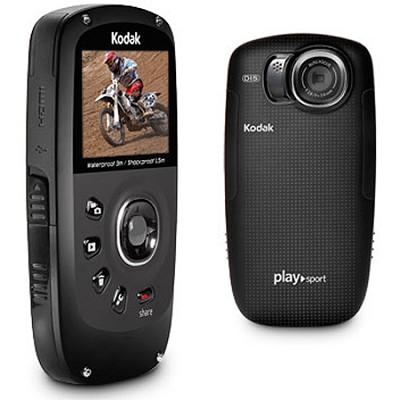 Playsport Zx5 Waterproof Pocket HD Video Camera Black