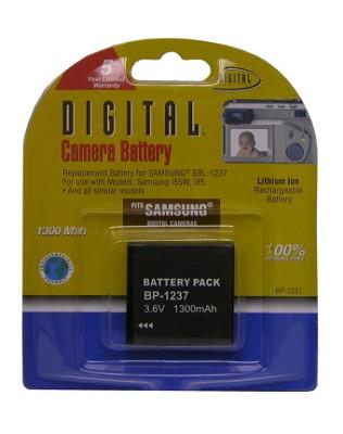 BP-1237 1300mAh Lithium Battery for Samsung Digimax L85