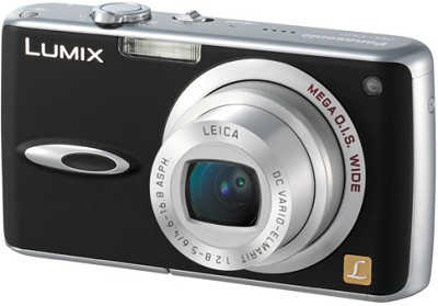 DMC-FX01 (Black) Lumix 6 Megapixel Digital Camera -OPEN BOX