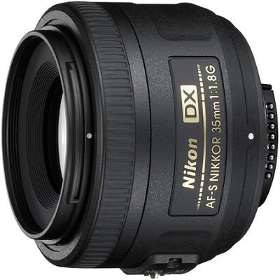 AF-S DX 35mm F/1.8G Lens - Factory Refurbished
