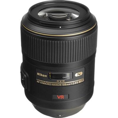 105mm f/2.8G ED-IF AF-S VR FX Full Frame Micro-Nikkor Close-up Lens USA WARRANTY