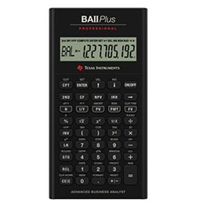 Plus Professional Financial Calculator - IIBAPRO/CLM/4L1/A