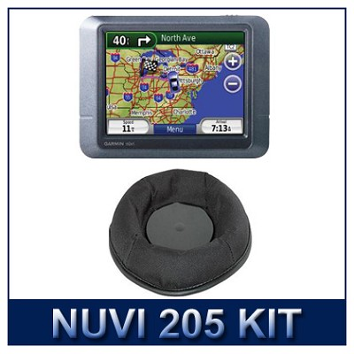 Nuvi 205 Preloaded City Navigator Mount Kit