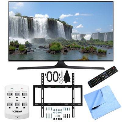 UN32J6300 - Full HD 1080p 120hz Slim Smart LED HDTV Slim Flat Wall Mount Bundle