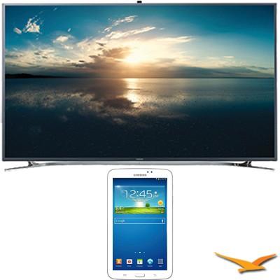 UN65F9000 - 65` 4K Ultra HD 120Hz 3D Smart LED TV - 7-Inch Galaxy Tab 3 Bundle