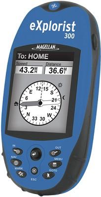 eXplorist 300 Compact Water-resistant Handheld GPS Receiver