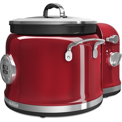 4-Quart Multi-Cooker with Stir Tower Accessory in Candy Apple - KMC4244CA
