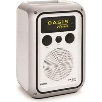 Oasis Flow Rechargeable Weatherproof Internet and FM Radio
